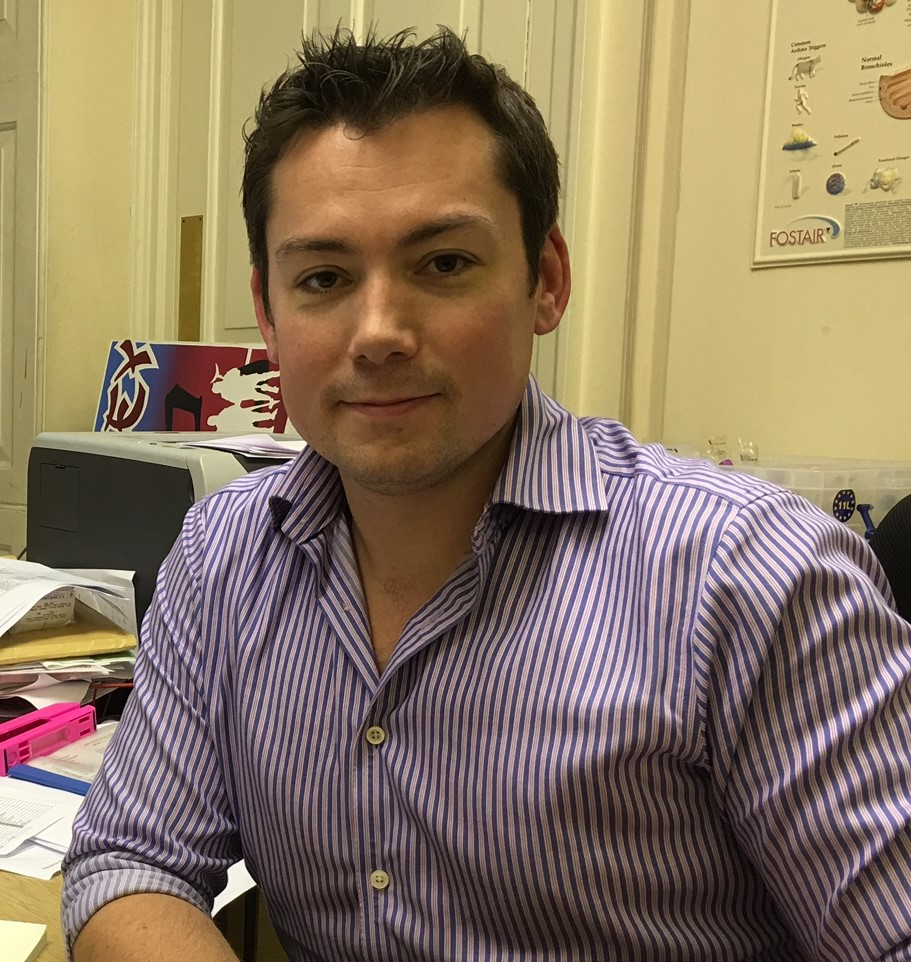 Dr Tristan Booth - General Practitioner with interest in prostate disease