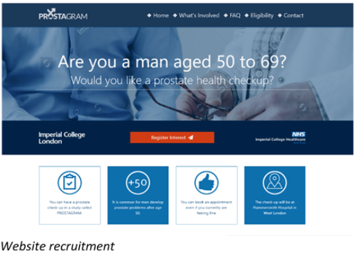 PROSTOGRAM website recruitment 2