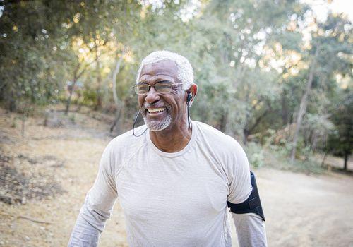 senior-black-man-in-the-woods